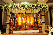 Stage Decor Ideas for Your Wedding
