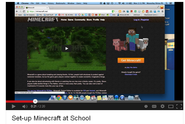 Teacher's Guide to setting up a Minecraft server at your school