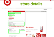 Scrape Target Store Location and Hours, Extract USA Store Website, Weekly Ads Scraper