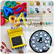 22 Handmade Learning Games & Toys for Kids