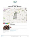 Mission Hills - Residential Neighborhood and Real Estate Report for Mission Hills, Kansas