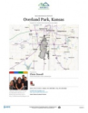 Overland Park - Residential Neighborhood and Real Estate Report for Overland Park, Kansas