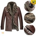Chicago Winter Brown Sheepskin Lamb Fur Coat CW868821