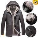 Los Angeles Sheepskin Fur Leather Jacket CW878207