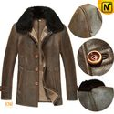 Seattle Shearling Fur Leather Coat for Men CW877307