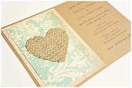 Shabby Chic Vintage Wedding Invitations