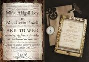 Victorian Vintage Wedding Invitations