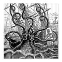 Kraken Shower Curtain - Octopus-Squid-Kraken Attack -Best Selection (with image) · showercurtain
