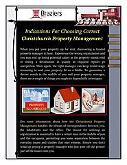 Some Information About Christchurch Property Management