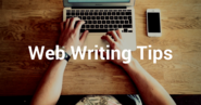 Web Writing Tips for Better Blogposts and Social Media Posts