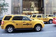 First Natural Gas Powered Taxis