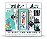 Fashion Plates Deluxe Kit - Age 6 and up