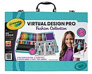 Crayola Virtual Design Pro-Fashion Set - Age 6 and up