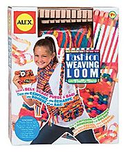 ALEX Toys Craft Fashion Weaving Loom - Age 7 and up