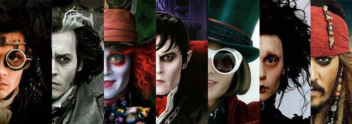 Headline for Johnny Depp's diverse roles, through the years.