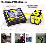 Conquest 100 - Miniature Ground Penetrating Radar – PCTE.com.au