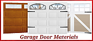 Something You Should Know About Garage Door Materials