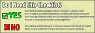 Advanced Content Promotion Checklist and Guide