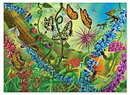 Melissa & Doug World of the Bugs Jigsaw Puzzle, 60-Piece