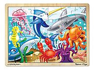 Melissa & Doug Under the Sea Jigsaw Puzzle 24pc