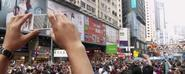 Hong Kong Protestors Dwindle in Numbers