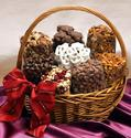 Bounty Basket - A gift basket with 8 pounds of delicious Mountain Man favorites
