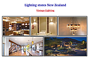 What New Zealand Lighting Stores Offers?