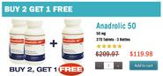Anadrol For Sale Online in 50 mg Tablets + Liquid Form