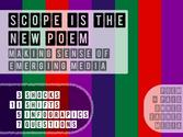 SCOPE is the new POEM. Making Sense of the Emerging Digital Media Landscape.