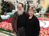 Touring around Vegas with Steve and Diane Brogan