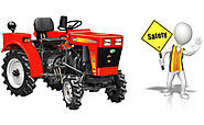 Safety devices to compact tractors for farming work