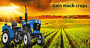 How compact tractors beneficial for much amount of crops?