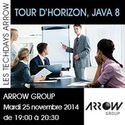 25 nov 2014 | TechDay Arrow Group_'Tour d'horizon de Java 8' | Paris