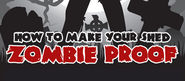 How To Make Your Shed Zombie Proof