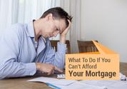 5 Things You Can do if You Can No Longer Afford Your Mortgage