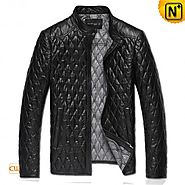 Buenos Aires Mens Leather Moto Jacket CW821001