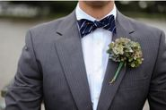 How to Pair a Bow Tie With Your Wedding Suit?