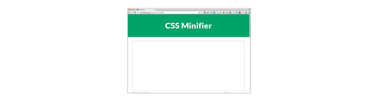 Headline for Your top tips for using @CSSMinifier #webtoolswiki