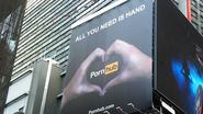 Pornhub Erects Huge Billboard in Times Square After Long Search for a Great Non-Pornographic Ad
