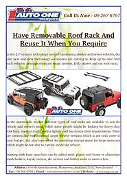 Automobile Market Different Types of Roof Racks