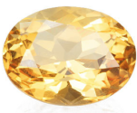 2.87ct natural Madeira Citrine loose gemstone for sale