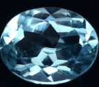2.28ct sky blue Topaz natural loose gemstone
