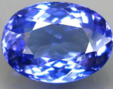 0.70 ct purple blue natural Tanzanite loose gemstone
