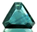 0.99Ct Natural Fancy Shape Greenish Blue Sapphire
