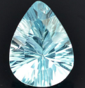 2.65 Ct. Pear cut Natural Sky Blue Topaz
