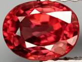 1.02Ct Pinkish Red Natural Zircon Eye Clean from Tanzania