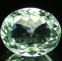 2.35 Ct. Oval Natural Green Beryl Gemstone