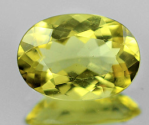 1.15 Ct. Oval Cut Natural Yellow Beryl Heliodor