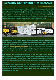 Hire Generator New Zealand Can Be Used Anywhere