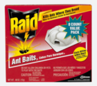 Stores that sell ant traps and bait.